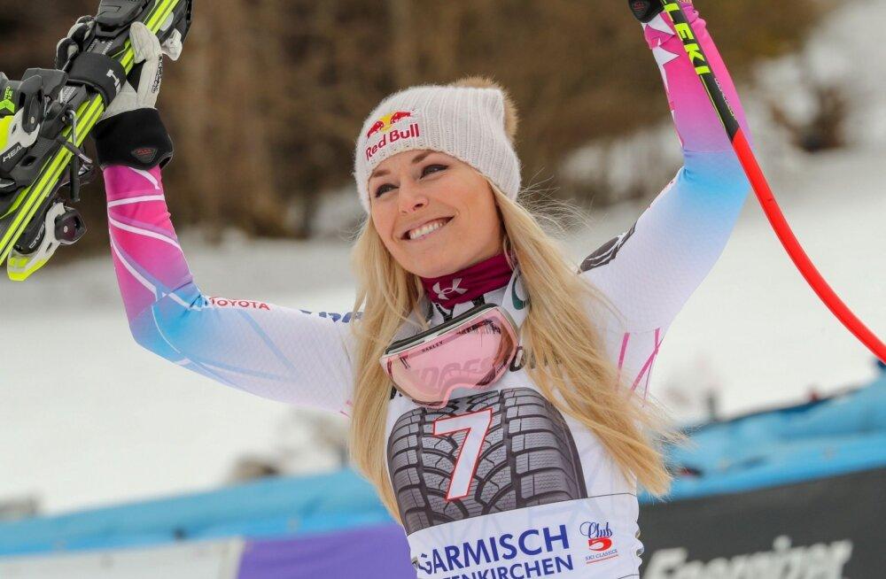 Lindsey Vonn loodab oma viimaselt olümpialt taas võitjana lahkuda.