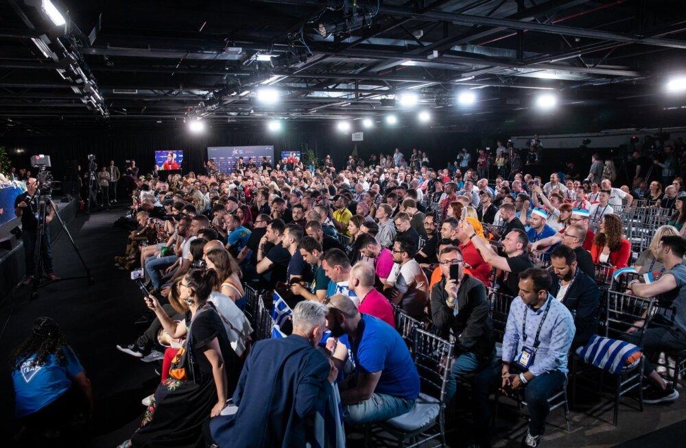 Eurovisiooni esimese poolfinaali pressikonverents