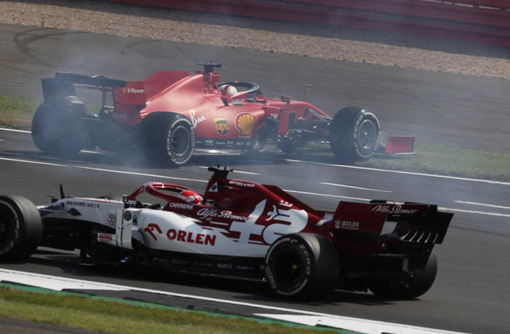 """Vettel Ferrarile: """"Te keerasite käki kokku!"""" Tiimiboss: """"Tema piruett oli palju kahjulikum kui meie boksistrateegia"""""""
