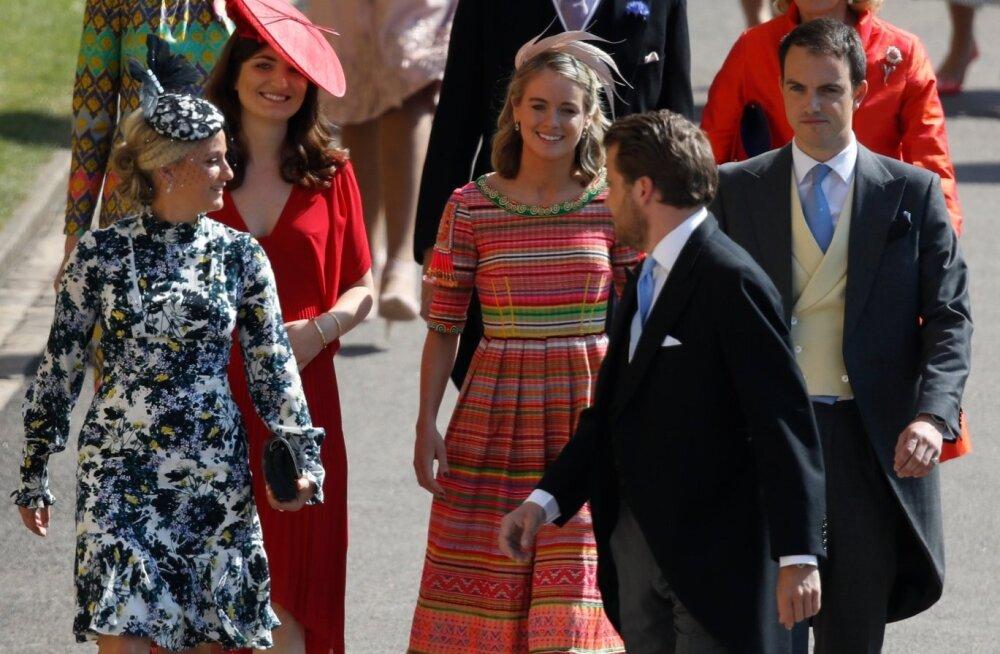 Cressida Bonas kuninglikus pulmas