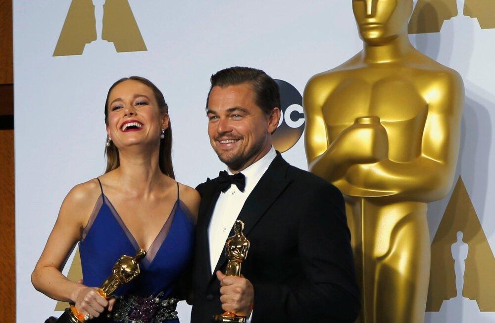 Brie Larson ja Leonardo DiCaprio
