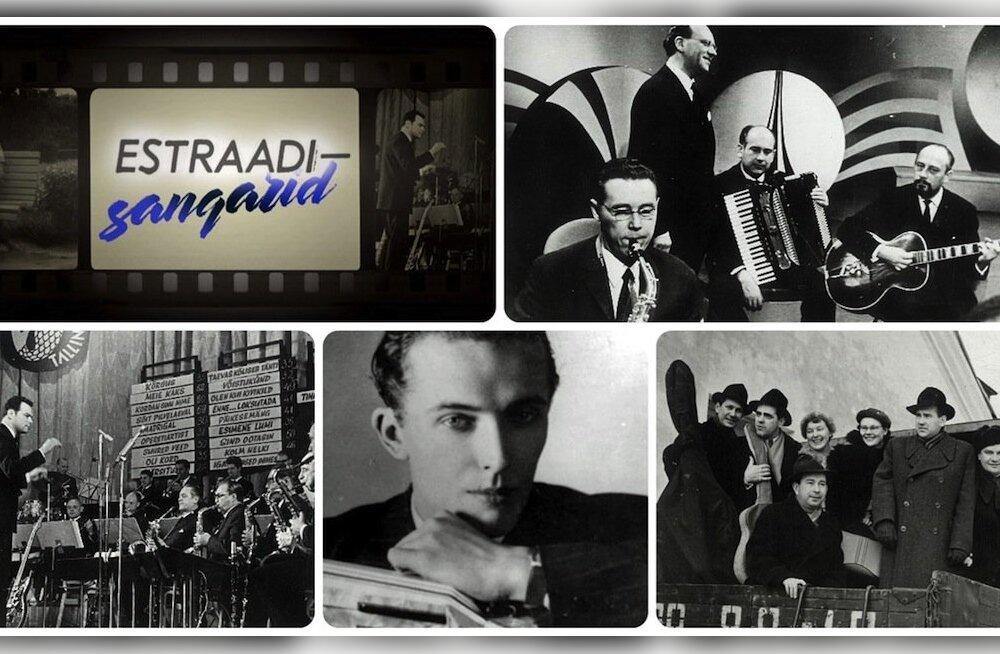 """Uus saatesari """"Estraadisangarid"""" toob ETV ekraanile kullaprooviga laulude lood"""