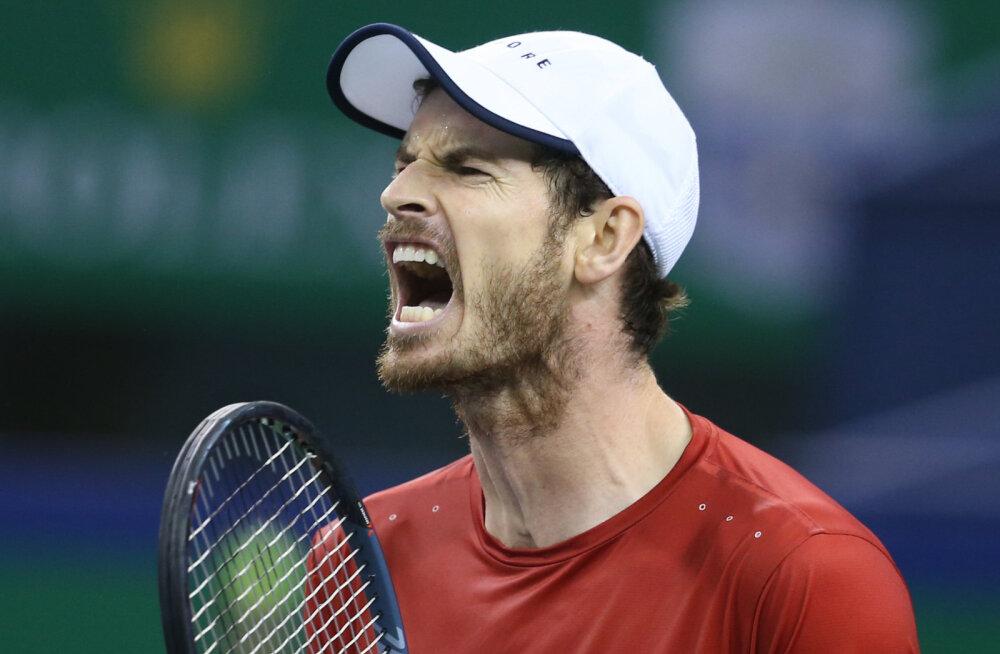 Endine esireket Andy Murray naaseb suure slämmi karusselli juba Austraalia lahtistel
