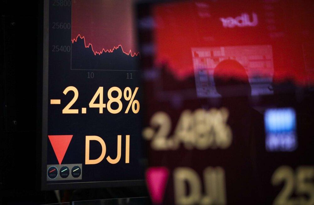 USA aktsiaturul lasti aadrit