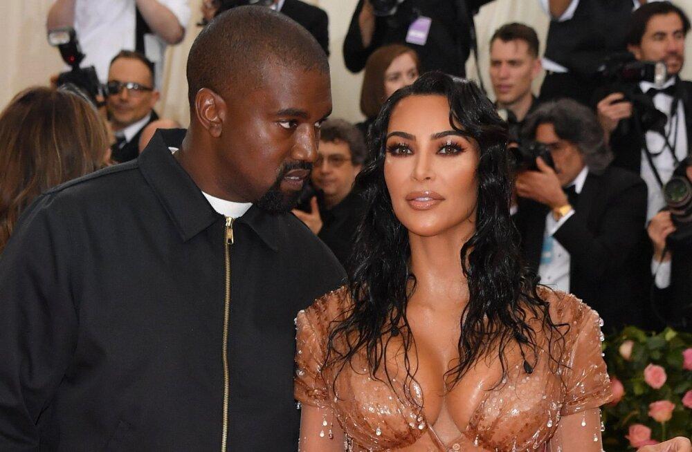 Suur tüli Westide perekonnas! Kanyele ei meeldi, et kaasa Kim Kardashian liiga seksikalt riietub: see teeb mu hingele haiget