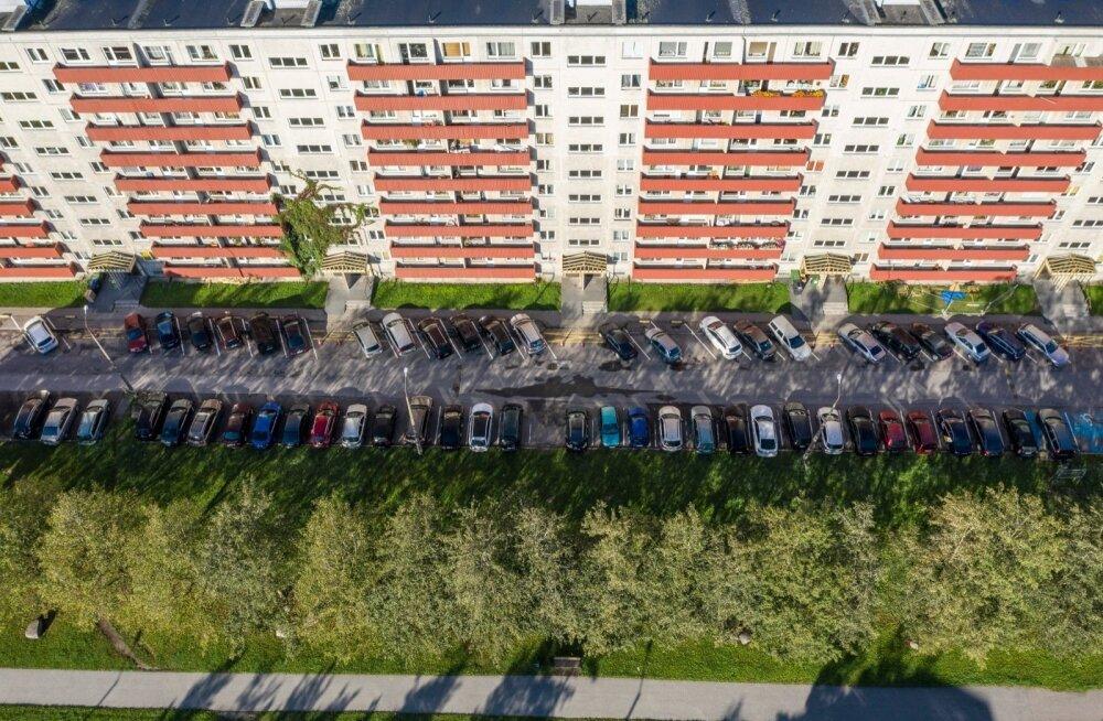 Таллинн — город для автомобилей, а не для пешеходов. В каком районе ситуация хуже всего?