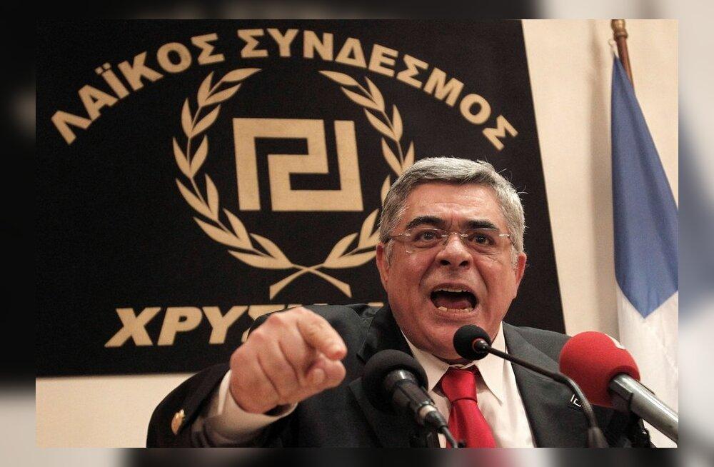 Kreeka neonatsliku Kuldse Koidiku juht jäeti eeluurimisvangistusse