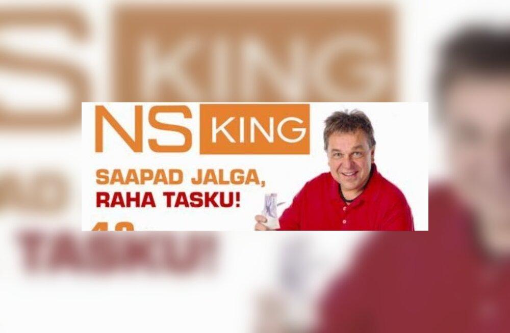 NS King esitleb: leia võti ja võida 10 000 krooni!