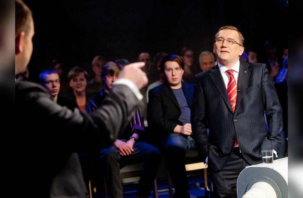 FOTOD: ETV alustas valimisdebattidega