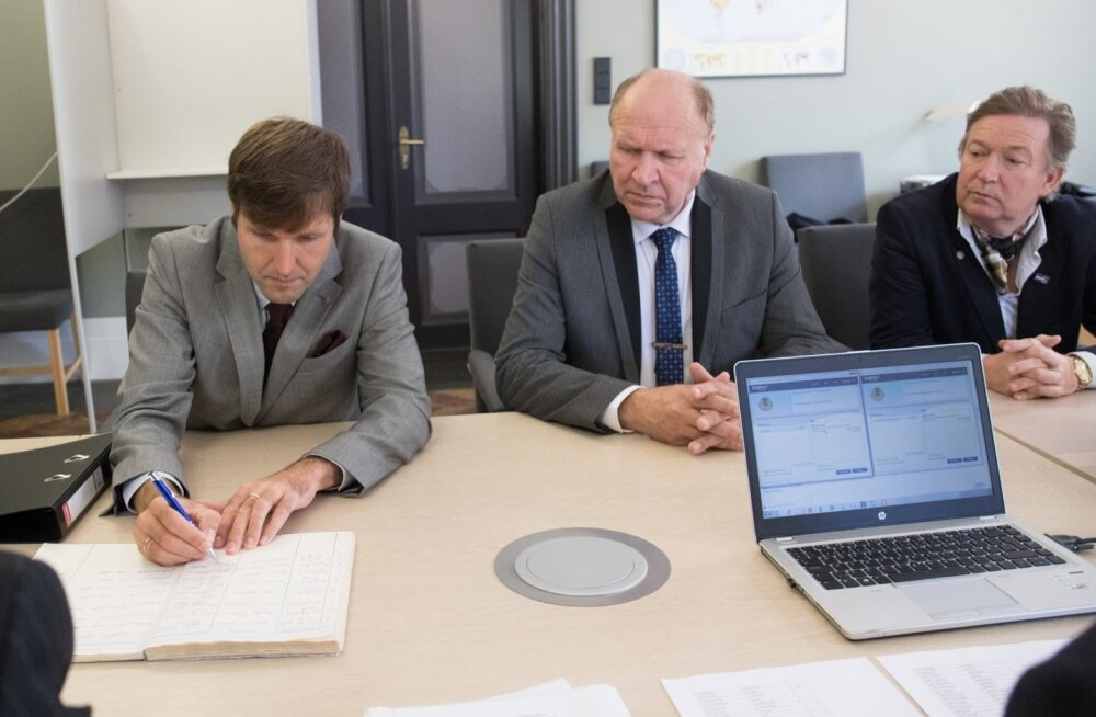 Mart Helme valimiskomisjonis