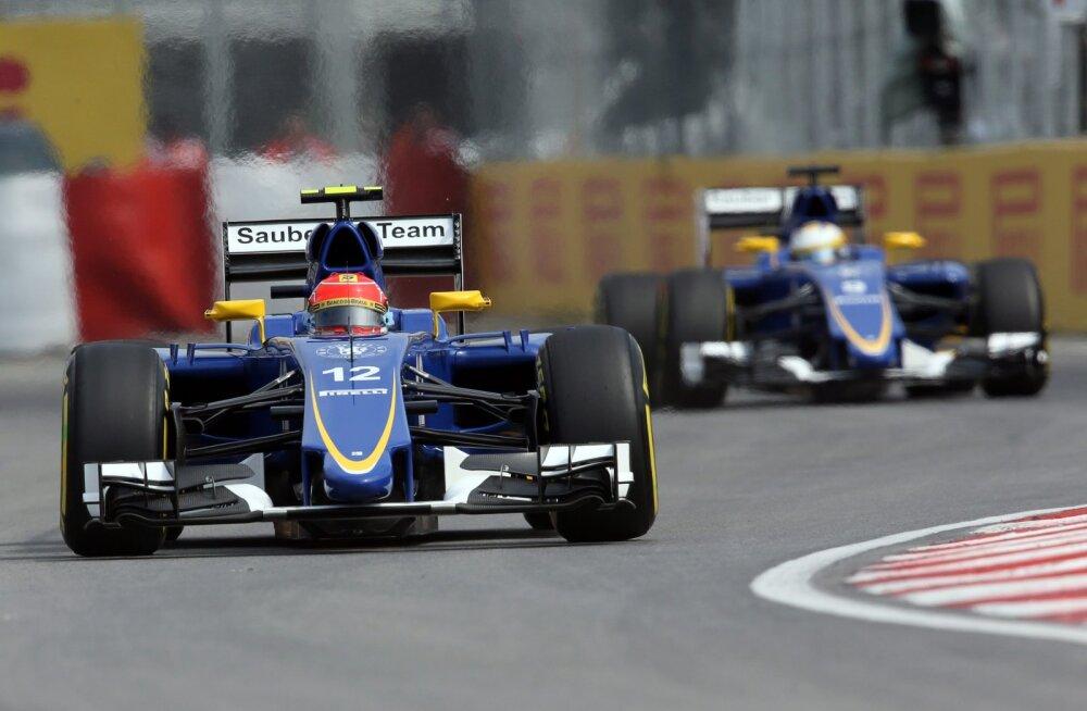 Sauber säilitab 2016. aastal praeguse sõitjatepaari