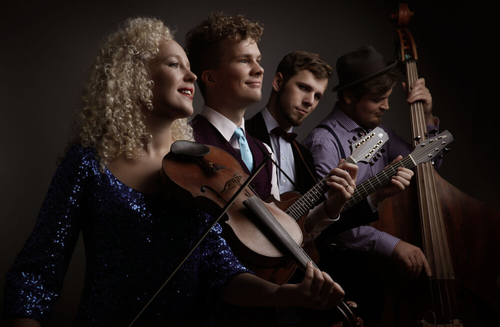 Muusikasõber, rõõmusta: Curly Strings naaseb kolmeks kontserdiks lavale