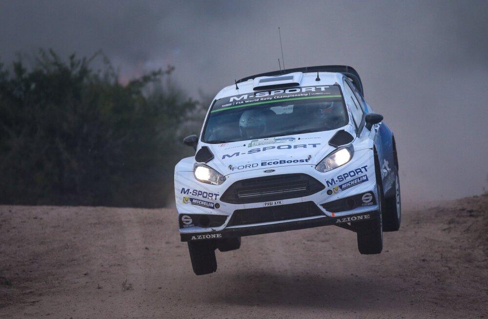 Mehhiko tiigist välja tõmmatud Ford Fiesta tuli Barbadose rallil poodiumile
