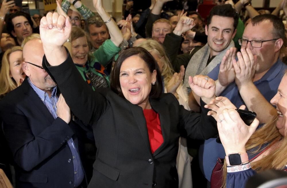 Iirimaa parlamendivalimistel saatis suur edu rahvuslaste erakonda Sinn Féin, kellega teised aga koostööd teha ei taha
