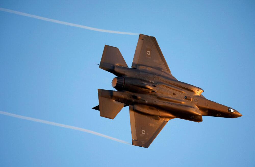 Iisrael teatas õhulöökide andmisest Süürias piirile paigutatud lõhkekehade tõttu