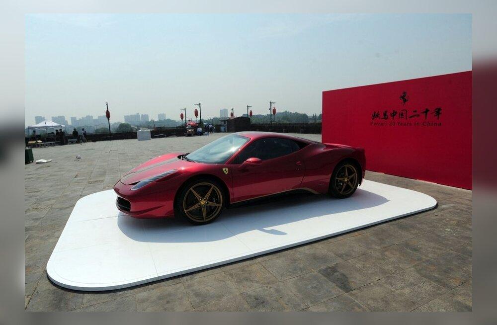 Inglismaal varastati 277 000 eurot maksev üliharuldane Ferrari
