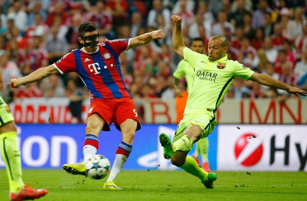 Barcelona kaheksandat korda finaali