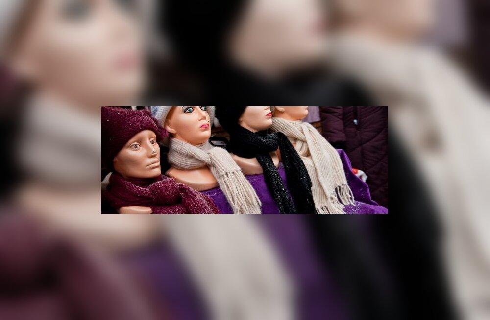 Iraani politsei keelas pearätita kurvikad mannekeenid