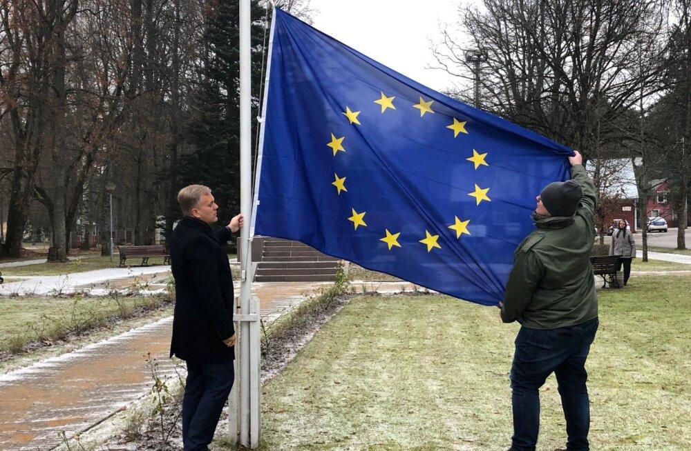 Pärnus umbusaldatakse volikogu aseesimeest, kes hindas Euroopa liitu orjastavaks
