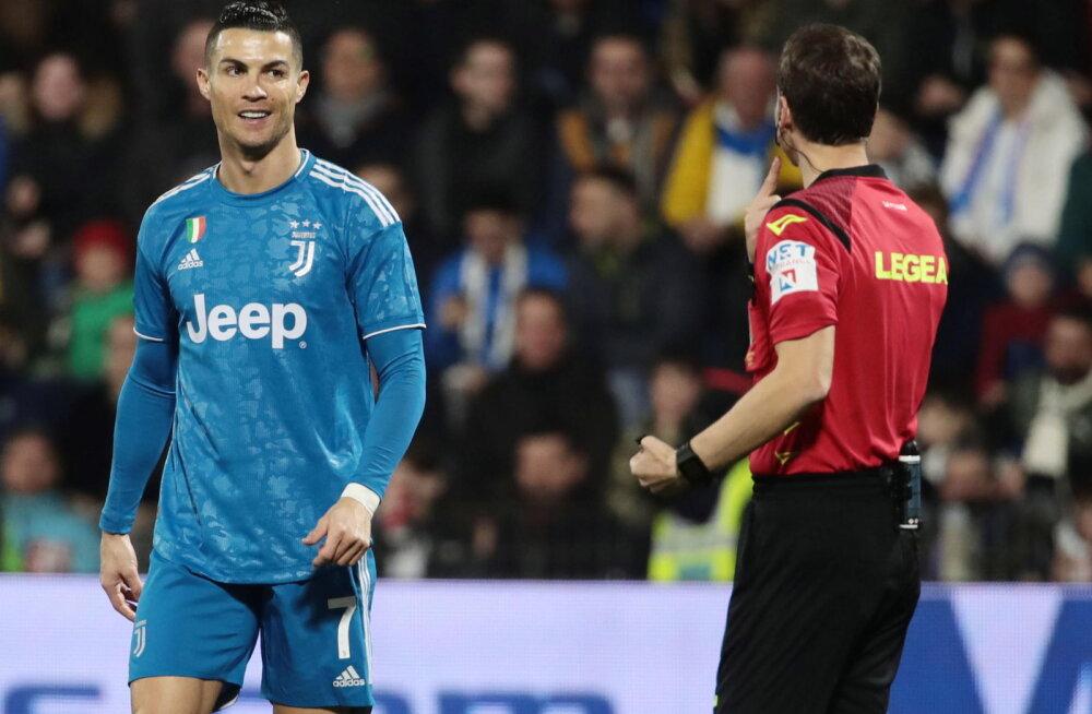 Georgi Tunjov sai Cristiano Ronaldo ja Co vastu väljakule, Juventusele napp võit