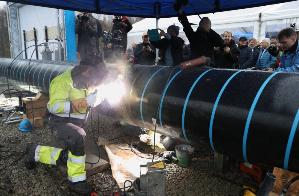 FOTOD | 43 miljonit maksva Balticconnectori gaasitorustiku ehitusele anti avapauk