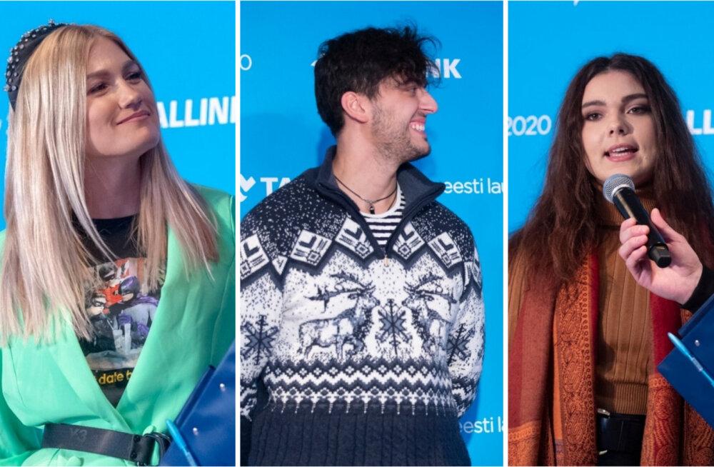 SKANDAAL   Kolm Eesti Laulu osalejat rikkusid võistluse reegleid: kas nad saavad juba disklahvi?