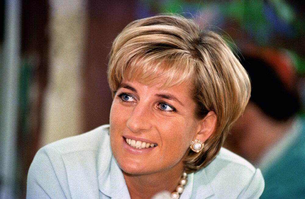 Haruldane ese müügil: printsess Diana dressipluus pandi oksjonile