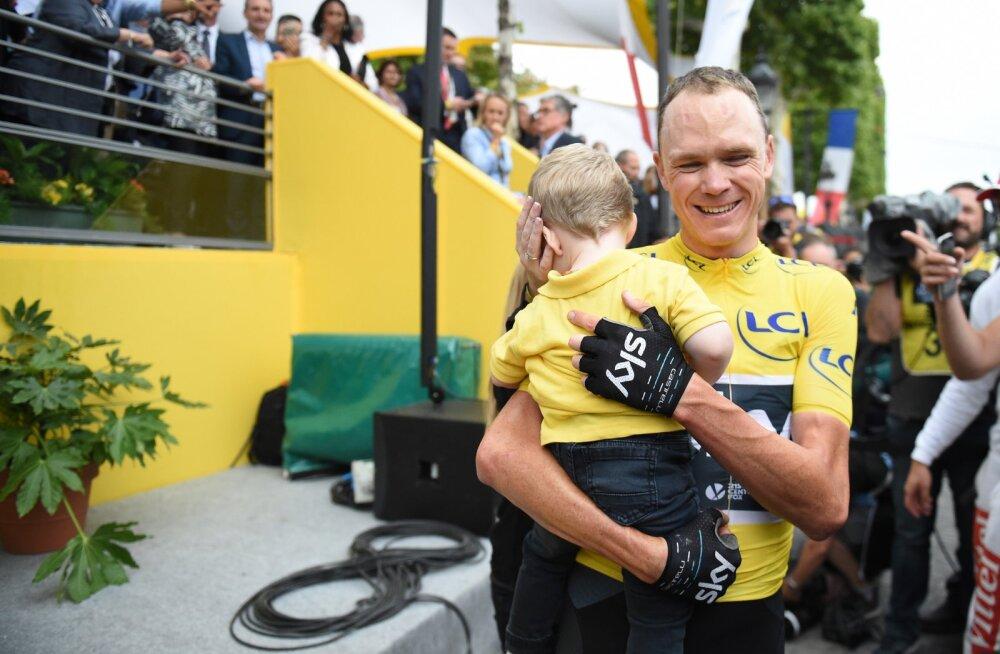 Chris Froome loodab Vueltal teha jalgrattasõidu ajalugu