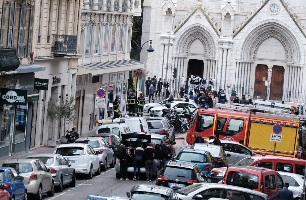 Nice'i kirikus kolm inimest tapnud tuneeslane saabus Euroopasse alles hiljuti