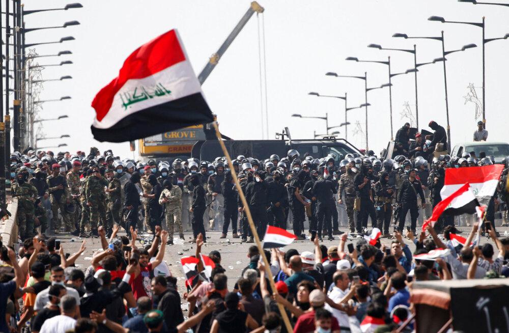 Rahutused Iraagis tõstsid Bitcoini hinda