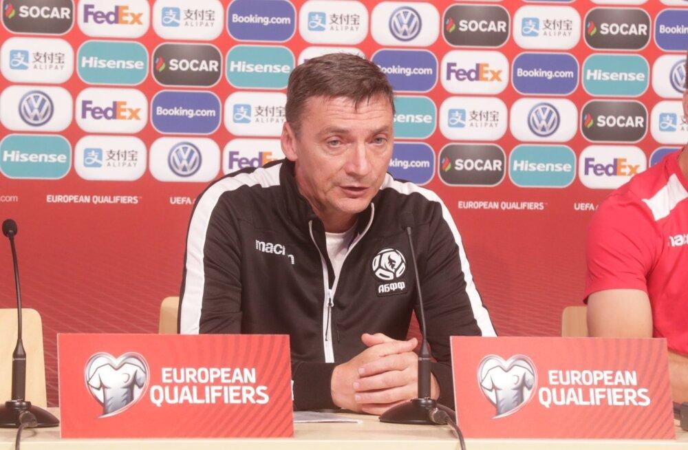 DELFI MINSKIS | Valgevene peatreener: Ragnar Klavani puudumine ei mõjuta meie mängu ühelgi moel