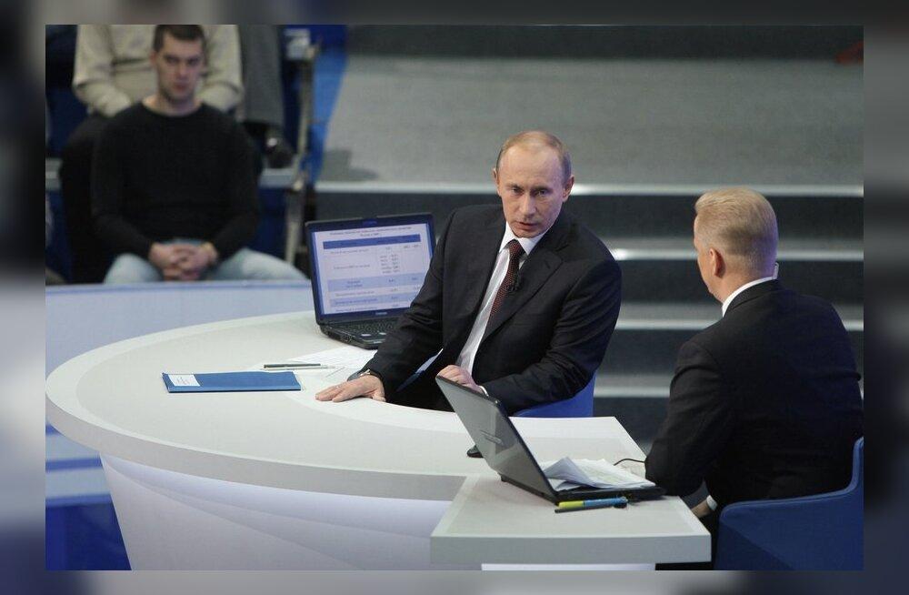 Putinit esindavad teledebattidel lojaalsed eksperdid ja rahvarinde aktivistid
