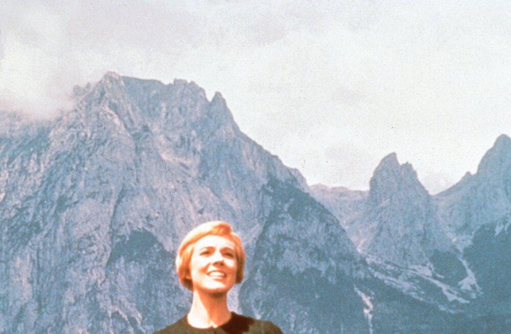 """Julie Andrews avaldas, et """"Heliseva muusika"""" legendaarset stseeni oli ränkraske filmida"""