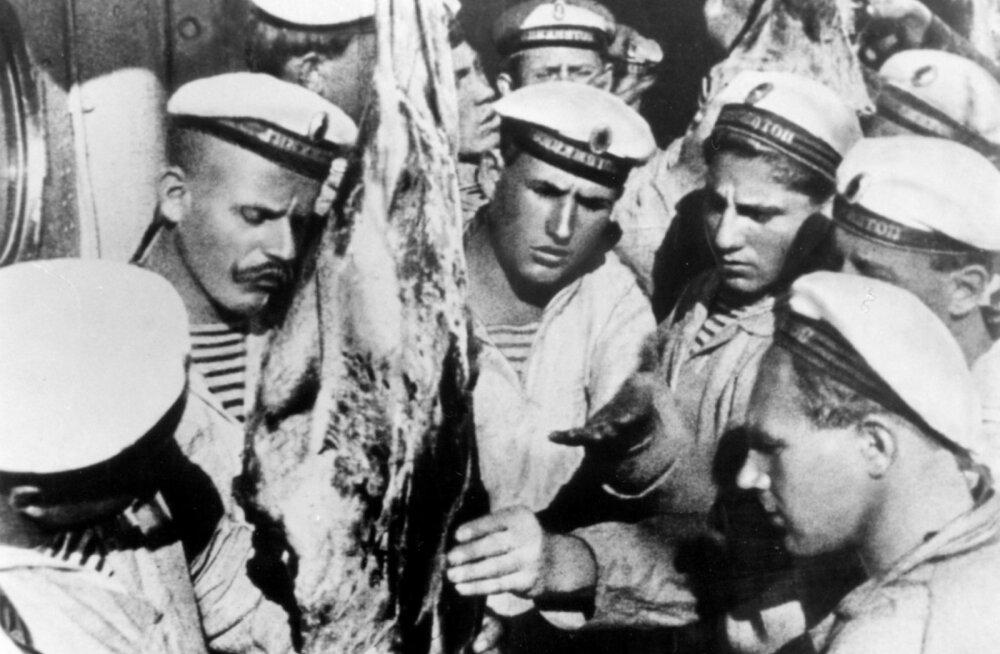 """Filmist """"Soomuslaev Potjomkin"""" on saanud kinoklassika."""