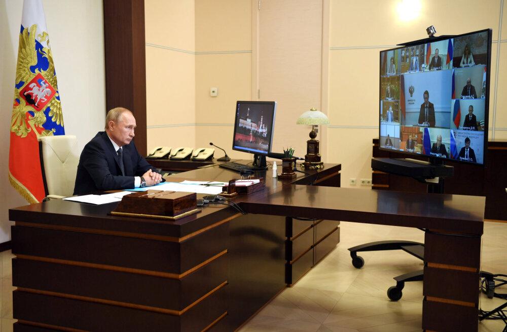 Putin teatas koroonaviiruse vaktsiini maailmas esimesena registreerimisest Venemaal