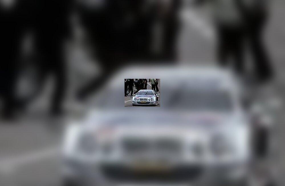 Alesi DTM-i Mercedesega