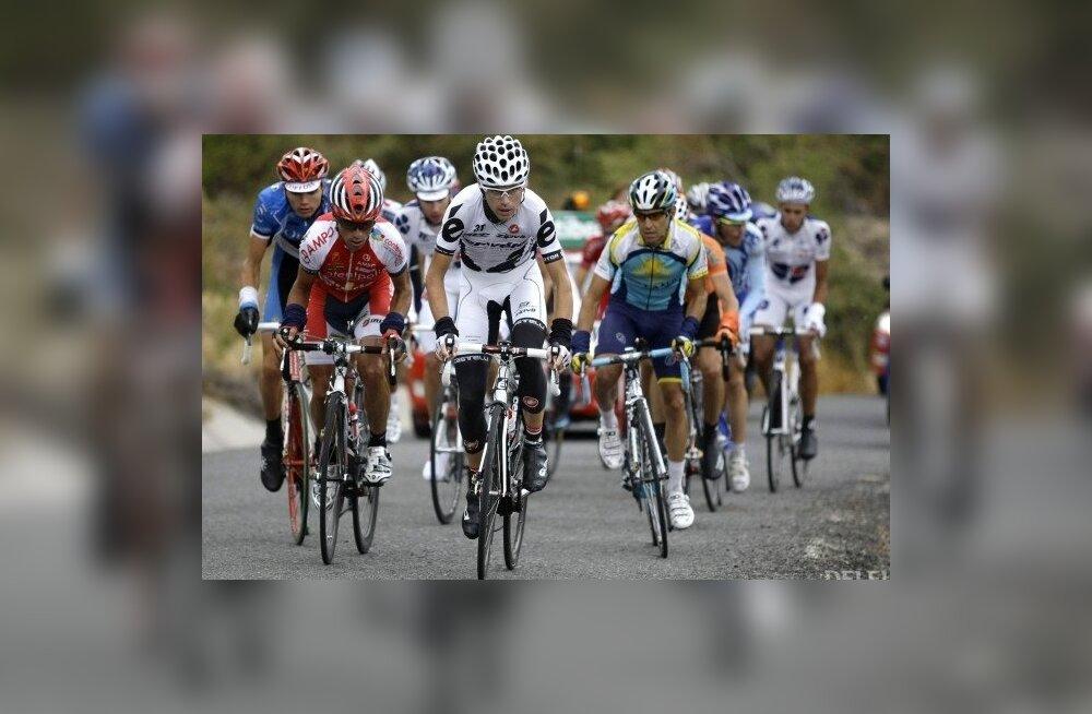 Taaramäe ja Kangert lõpetasid Tour de l'Aini avaetapi peagrupis