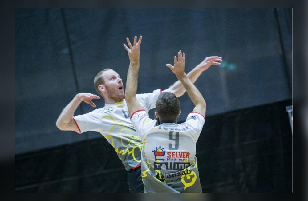 Võrkpall Tallinna Selver vs ASK Kuldiga