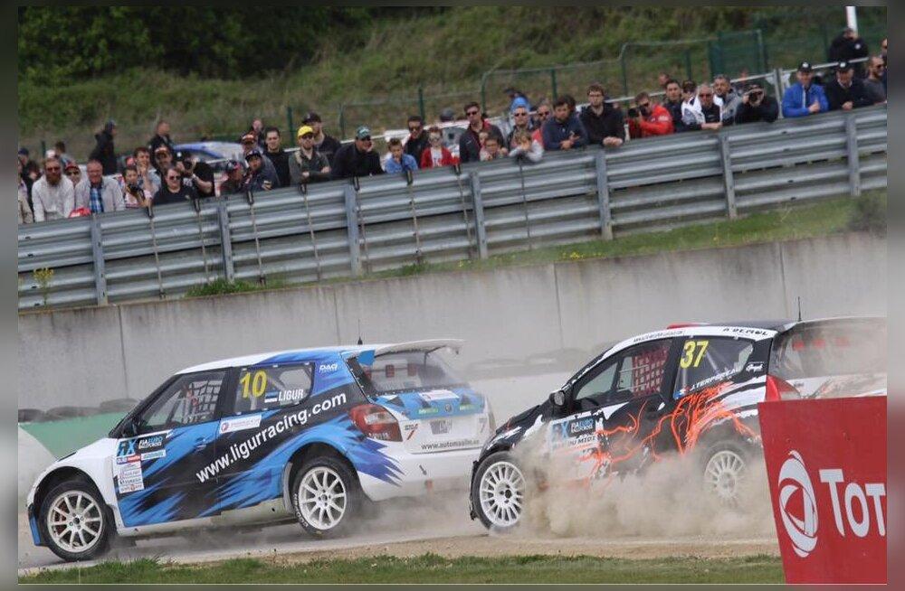Janno Ligur sai rallikrossi EM-etapil teise koha!