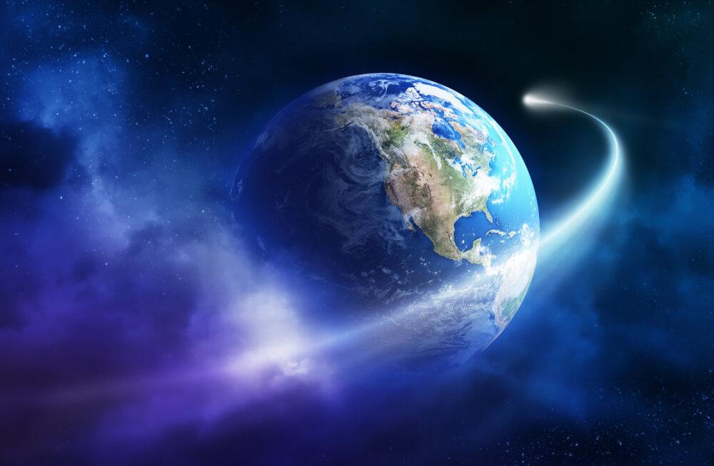 Eluks vajaliku elemendi tõid Maale komeedid