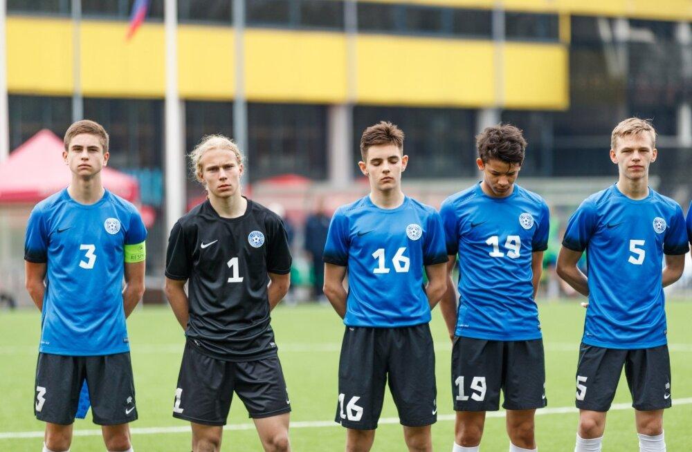Eesti - Leedu U17 UEFA Sõprusturniir