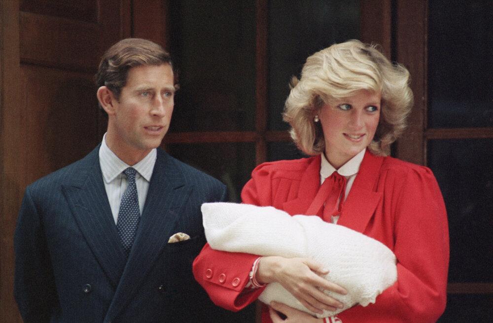 Printsessi saladus ja pettunud prints: mida tähtsat varjas Diana Charlesi eest enne Harry sündi?