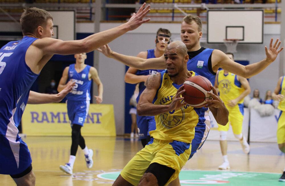 Ventspilsi tagamängija võttis Eesti-Läti korvpalliliiga punktirekordi Kregor Hermetilt ära