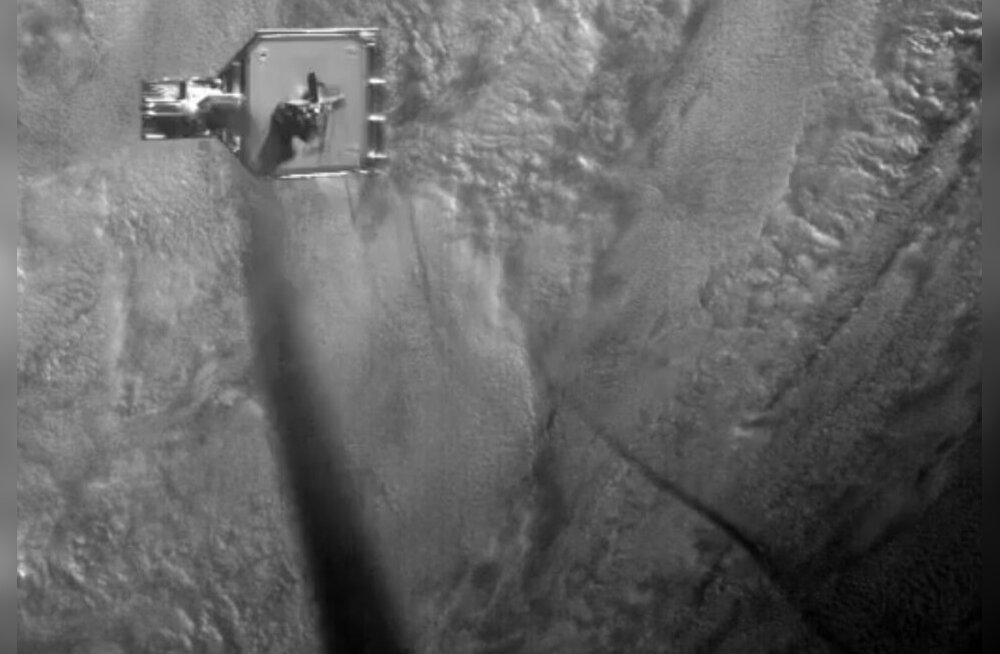 VIDEO | Briti satelliit katsetas kosmoseprügi püüdmist harpuuniga
