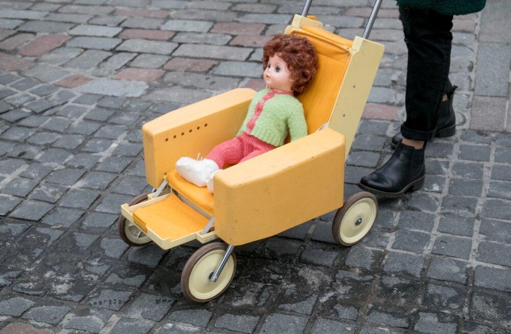 Lapsevankrite rongkäik, Käru muuseum