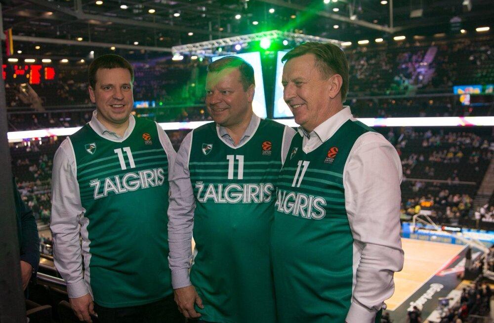 FOTO | Jüri Ratasest sai Kaunase Žalgirise mängija
