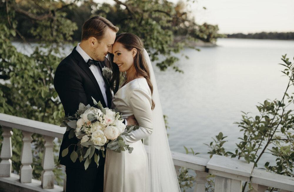KLÕPS | Palju õnne! Soome peaminister abiellus: sina oled minule see õige