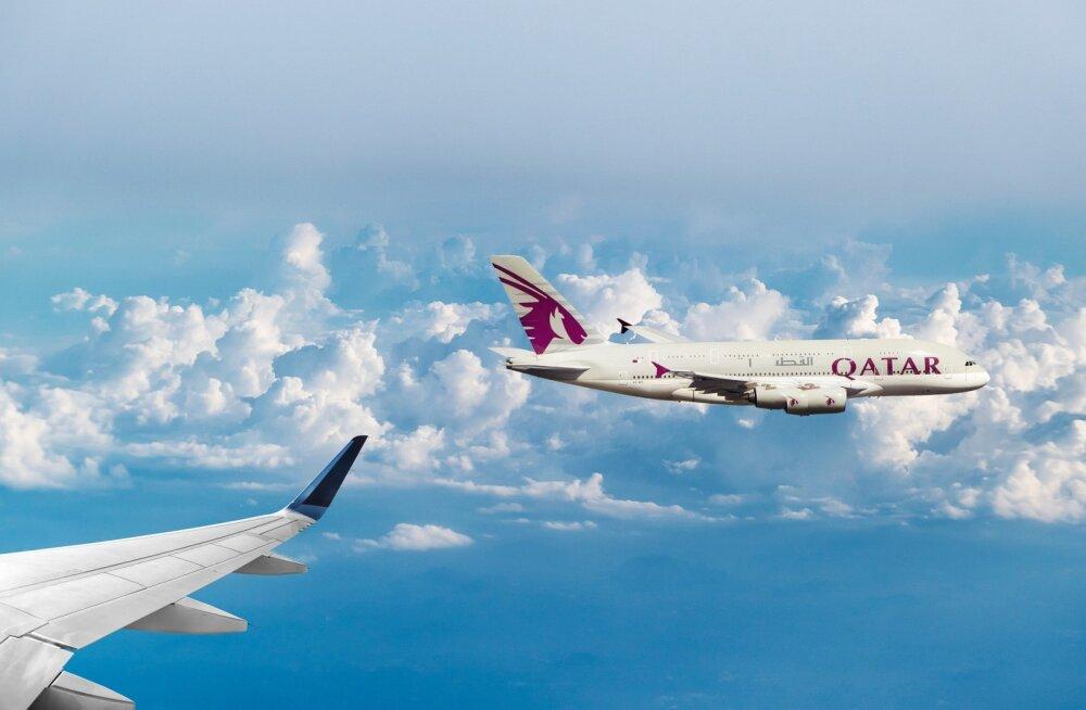 Osale ise või soovita sõbrale: Qatar Airways kingib meditsiinitöötajatele ja nende kaaslastele 100 000 tasuta lennupiletit