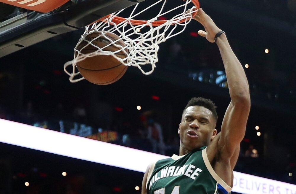 Bucks Antetokounmpo Basketball