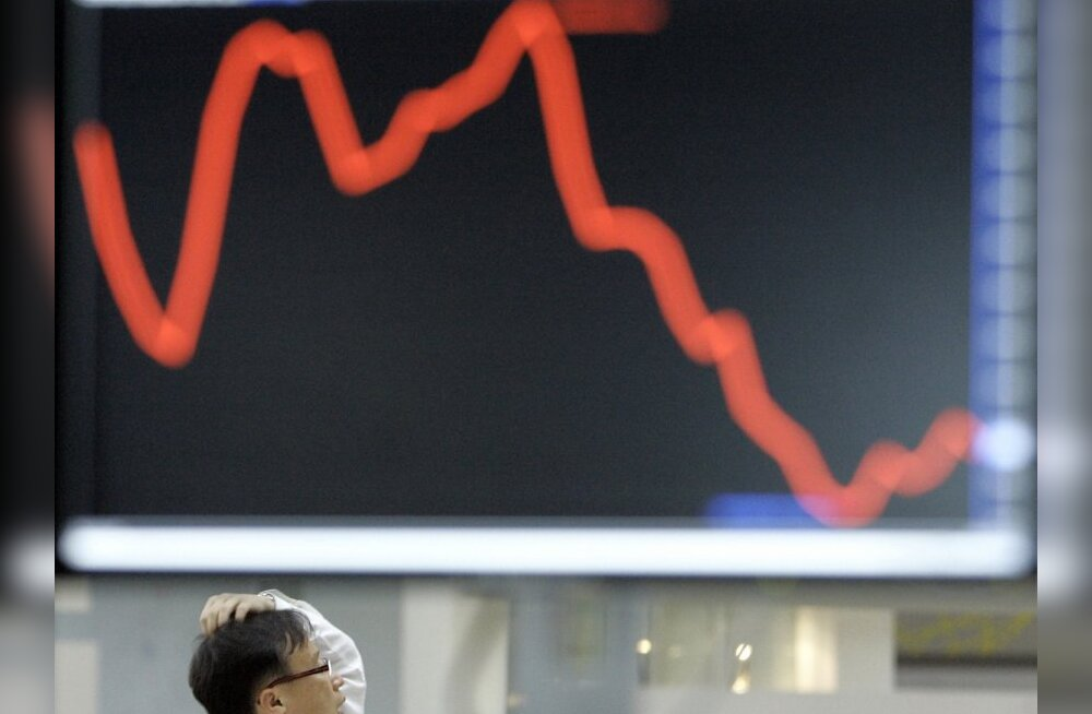 Tallinna börs langes täna järsult